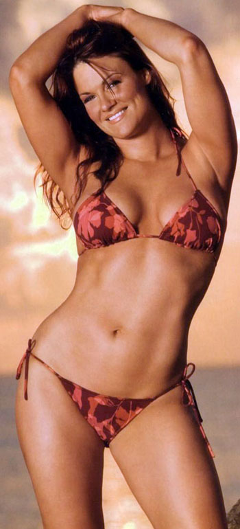 Amy christine dumas in a bikini