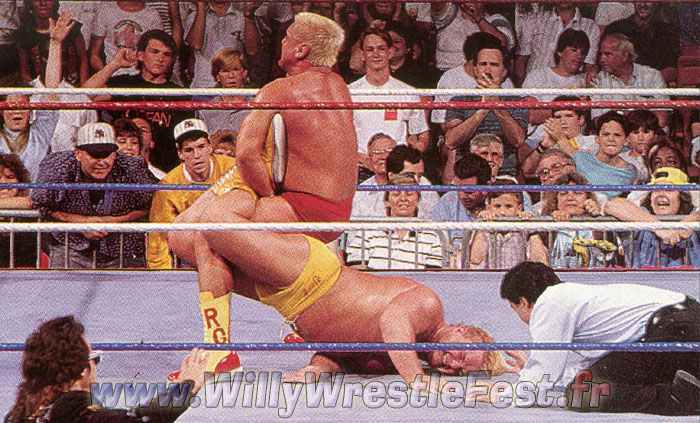 I Would Want A Basic 2 Pack With Greg Valentine In Their Yin And Yang Red  And Yellow Outfits And The Two Shin Guards From The Submission Match As ...