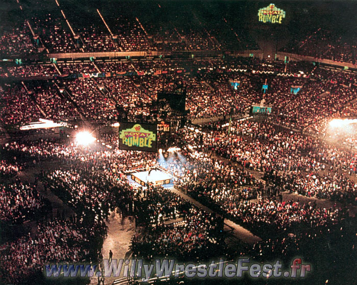 Show WWE de jon Royal_Rumble_1997_-_Arena_01
