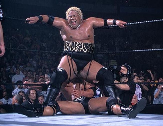 Survivor Series 2000 The Rock Vs Rikishi 01