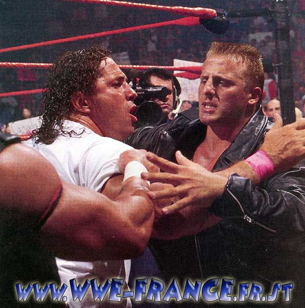 Owen Hart And Bret Hart Intronis� au stampede