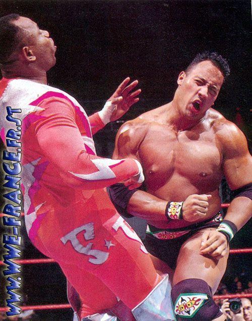Rocky Maivia The Rock Dwayne Johnson
